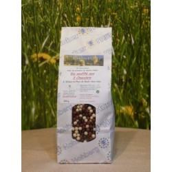 Riz soufflé aux 3 chocolats en sachet de 200gr