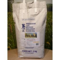 Farine de blé T65 en sac de 5kg