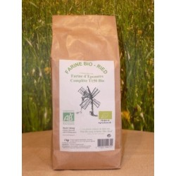 Farine d'épeautre Complète T150 bio en sac de 1kg
