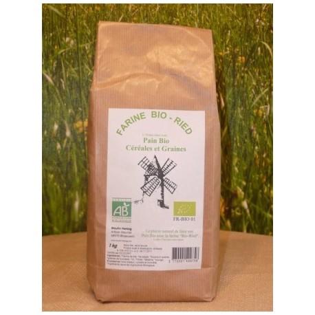 Farine Céréales et graines BIO en sac de 1kg