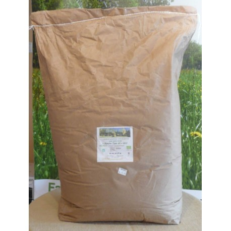 """Farine """"5 céréales bio"""" en sac de 25kg"""