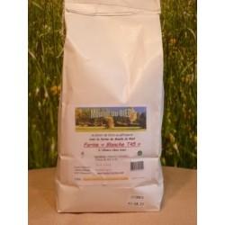 Farine de blé T45 en sac de 2kg