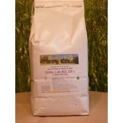 Farine de blé T65 en sac de 2kg