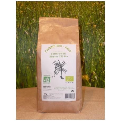 Farine  de blé T45 Bio en 1 kg